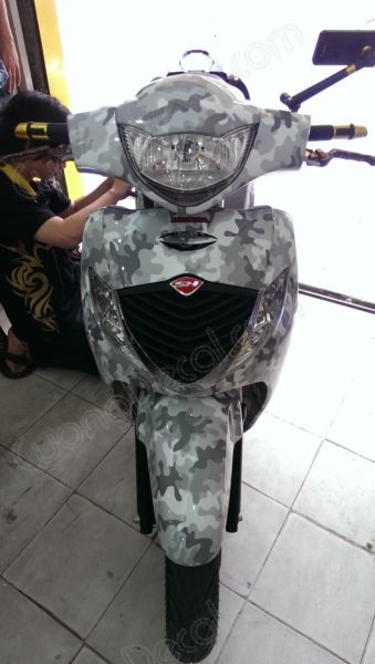 DECAL HONDA SH 165