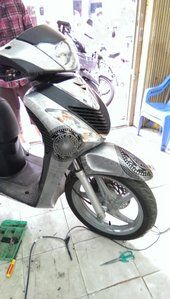 DECAL HONDA SH 166