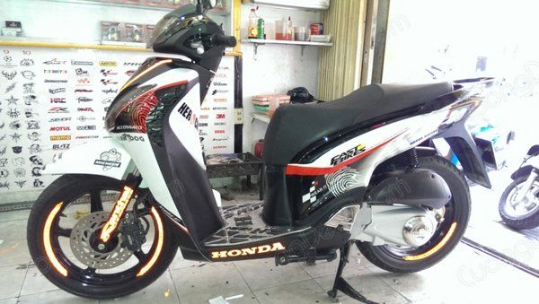 DECAL HONDA SH 167