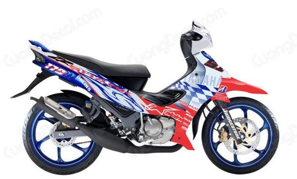 DECAL YAMAHA Z125 018