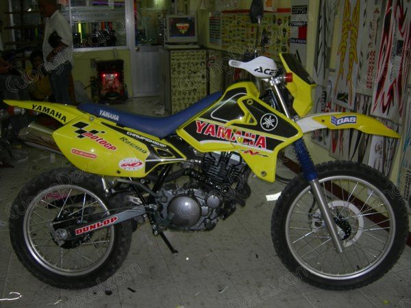 DECAL MOTOCROSS 018