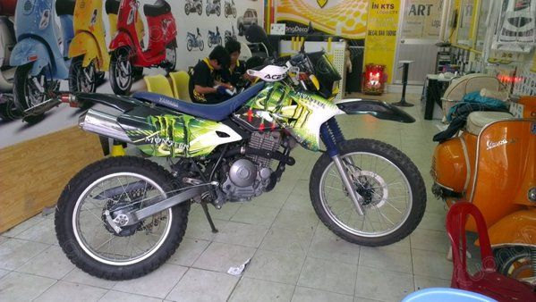 DECAL MOTOCROSS 027