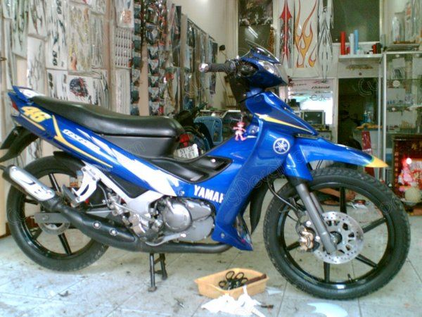 DECAL YAMAHA Z125 007