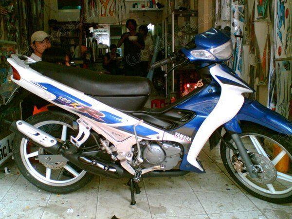 DECAL YAMAHA Z125 008