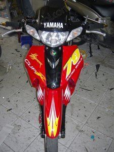 DECAL YAMAHA Z125 011