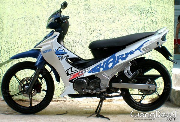DECAL YAMAHA Z125 014