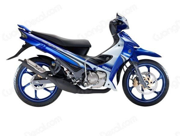 DECAL YAMAHA Z125 015