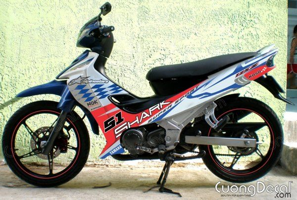 DECAL YAMAHA Z125 017