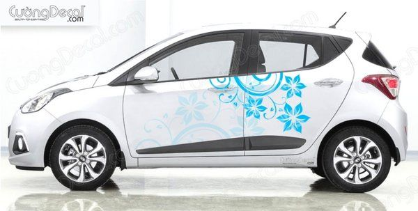 DECAL HYUNDAI i10 001
