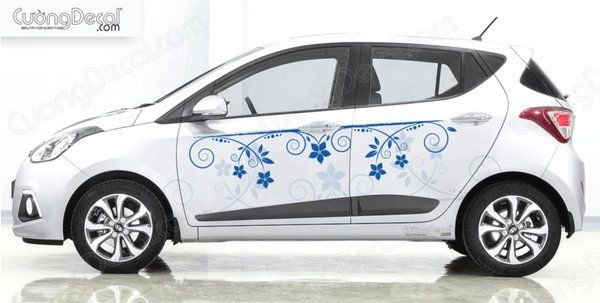 DECAL HYUNDAI i10 003
