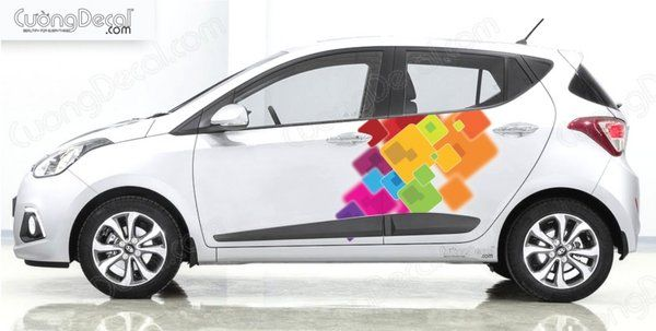 DECAL HYUNDAI i10 004