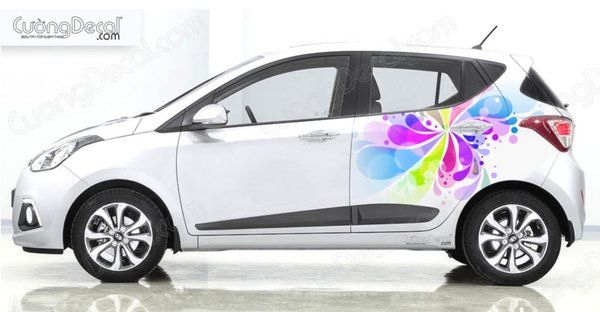 DECAL HYUNDAI i10 005