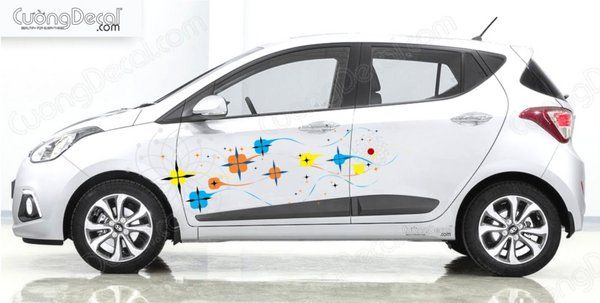 DECAL HYUNDAI i10 006