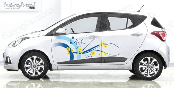 DECAL HYUNDAI i10 007
