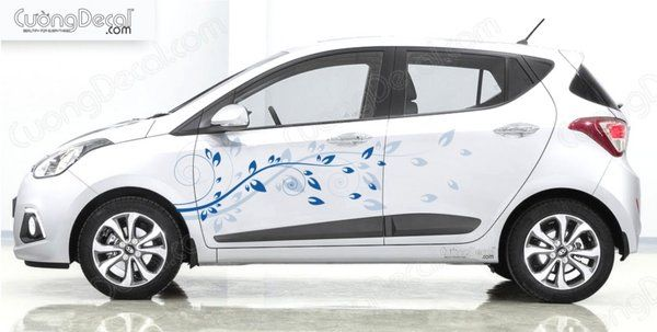 DECAL HYUNDAI i10 008