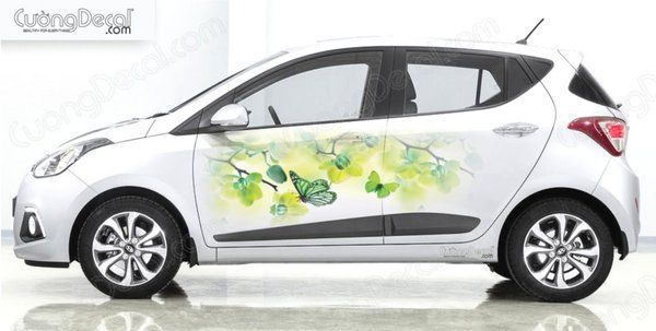 DECAL HYUNDAI i10 009