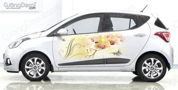 DECAL HYUNDAI i10 010