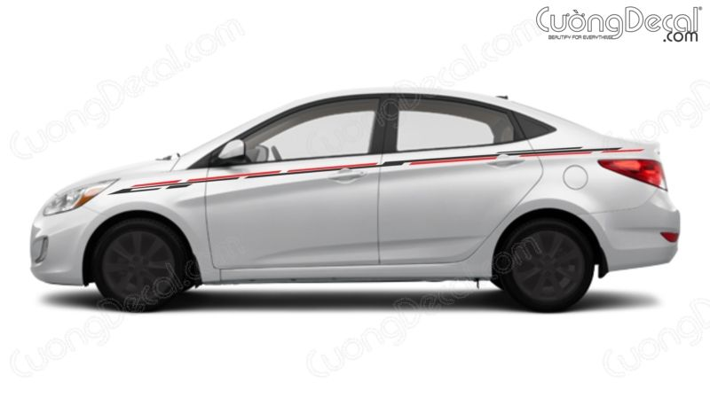 DECAL HYUNDAI ACCENT 003