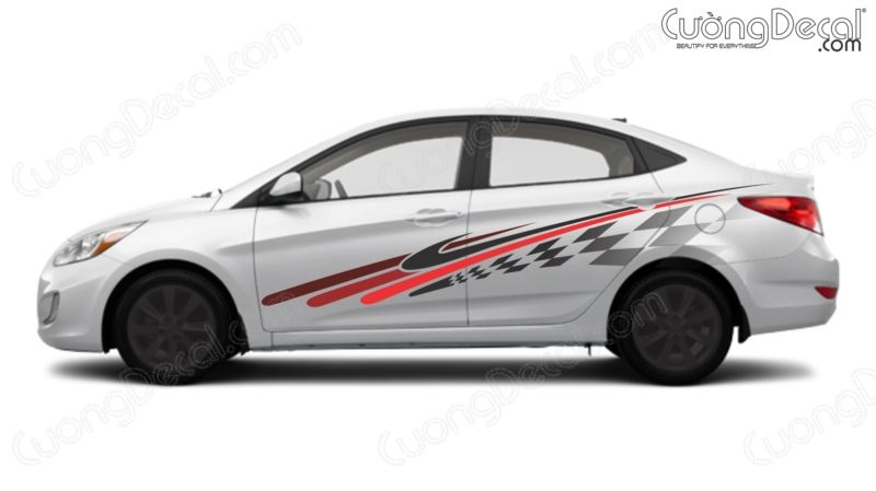 DECAL HYUNDAI ACCENT 004