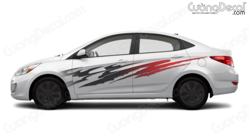 DECAL HYUNDAI ACCENT 005