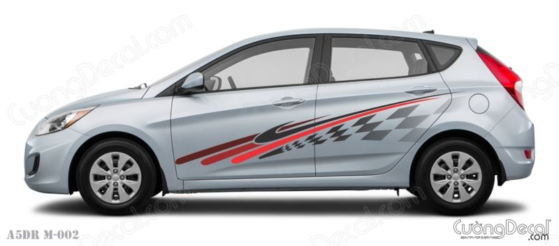 DECAL HYUNDAI ACCENT 008