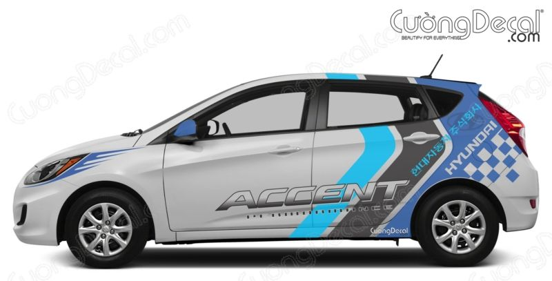DECAL HYUNDAI ACCENT 014