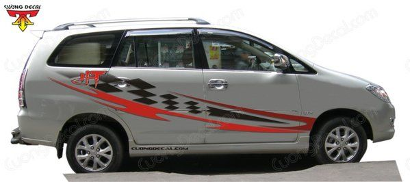 DECAL TOYOTA INNOVA 011