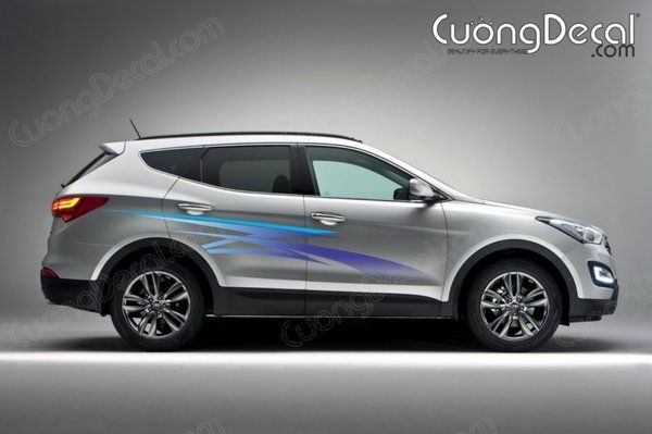 DECAL HYUNDAI SANTAFE 003