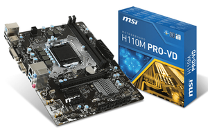 Mainboard MSI H110M PRO-VD