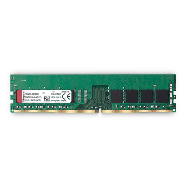 RAM Kingston 8GB DDR4 Bus 2400 MHz - KVR24N17S8/8