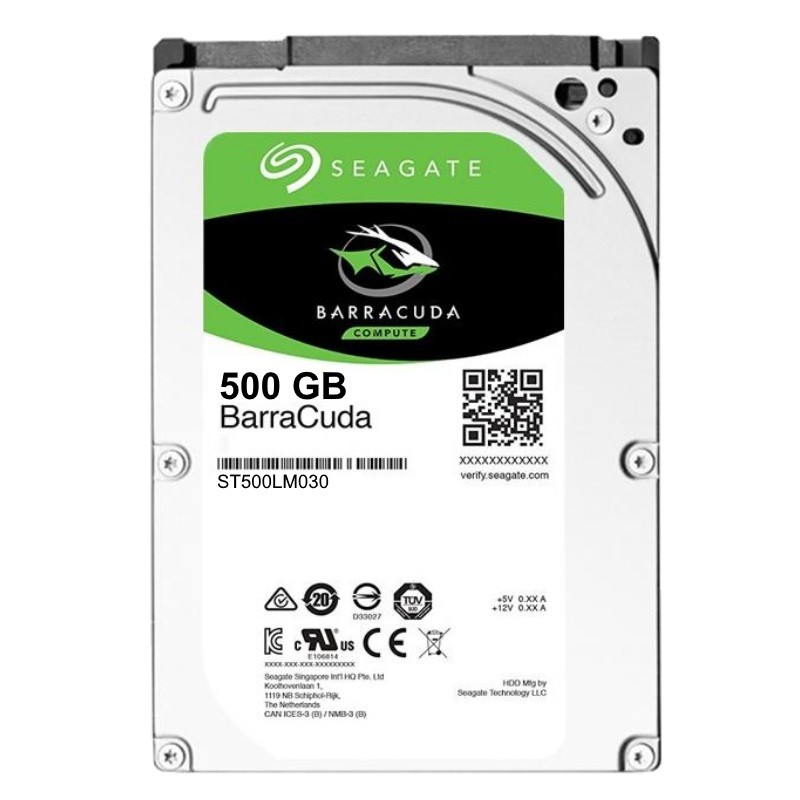 Ổ cứng Laptop Seagate BarraCuda 500GB