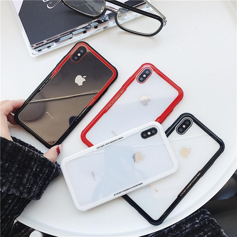 ỐP TRONG SUPER LIGHT VIỀN SILICON IPHONE X