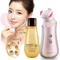[ELISHACOY] 3D Spin Cleanser Brush&massager