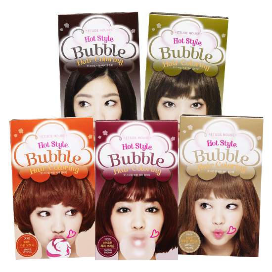 [ETUDE] Bubble hair coloring