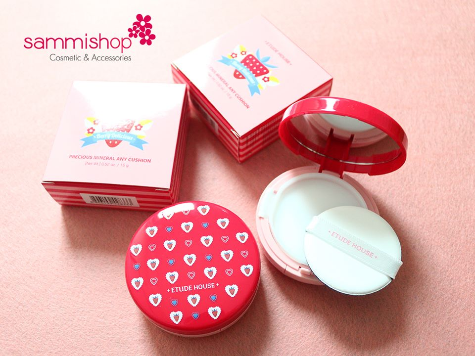 Etude House Berry Delicious Precious Mineral Any Cushion– 15gr