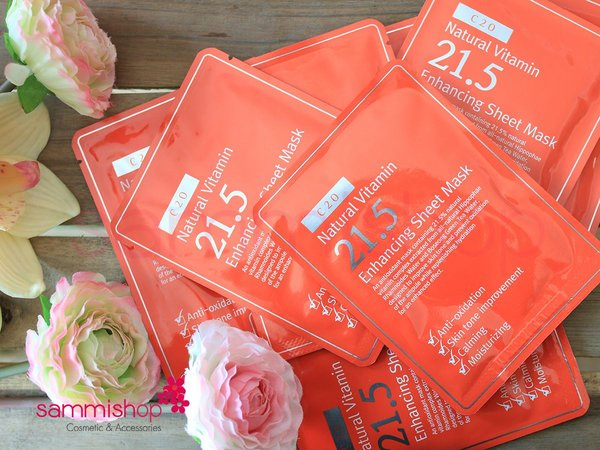 OST Natural Vitamin 21.5 Enhancing Sheet Mask