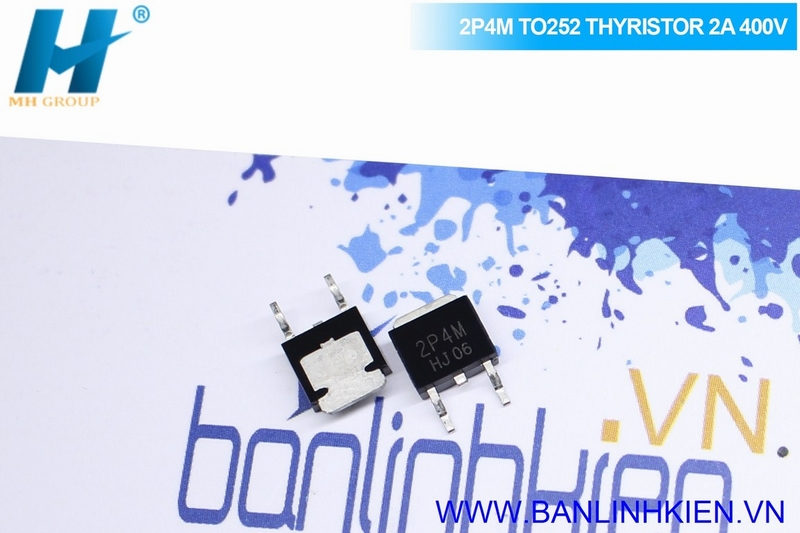 2P4M TO252 THYRISTOR 2A 400V