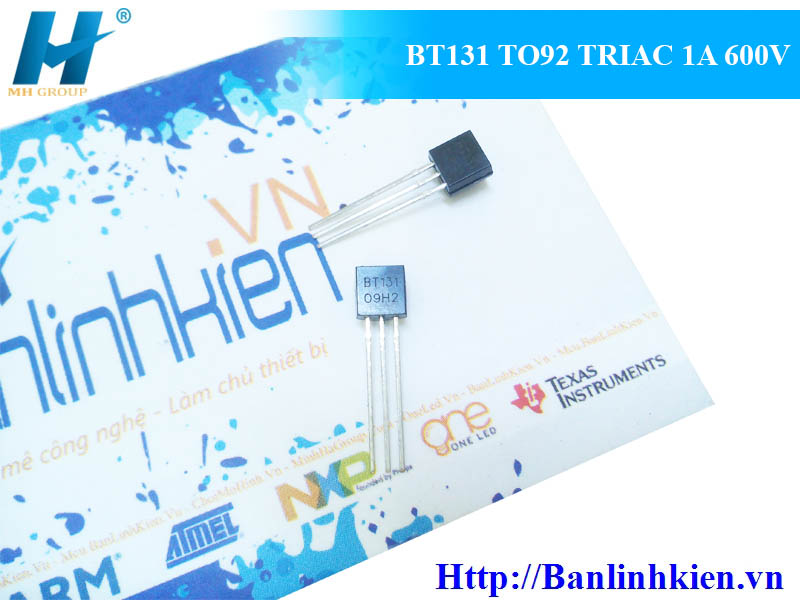 BT131 TO92 TRIAC 1A 600V