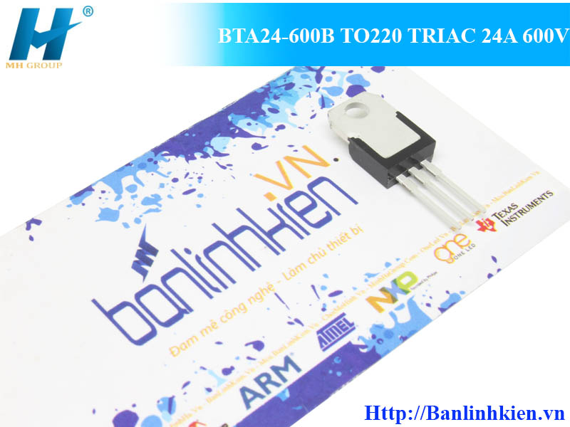 BTA24-600B TO220 TRIAC 24A 600V