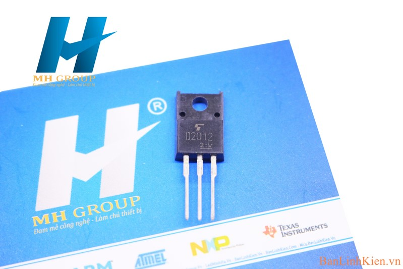 D2012 TO220 NPN 3A 50V