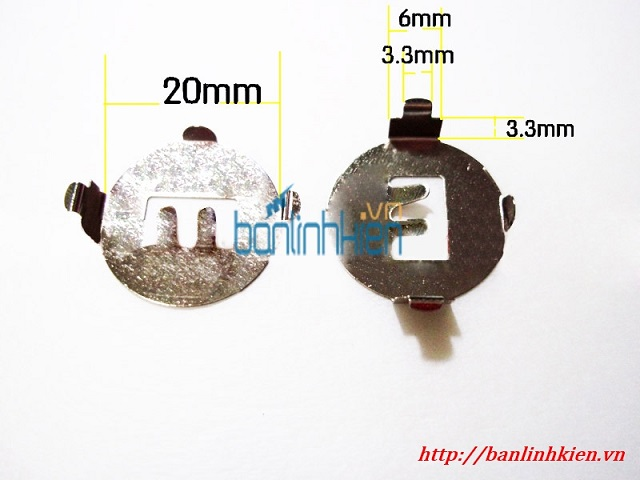 Đế Pin CR2032 SMD003