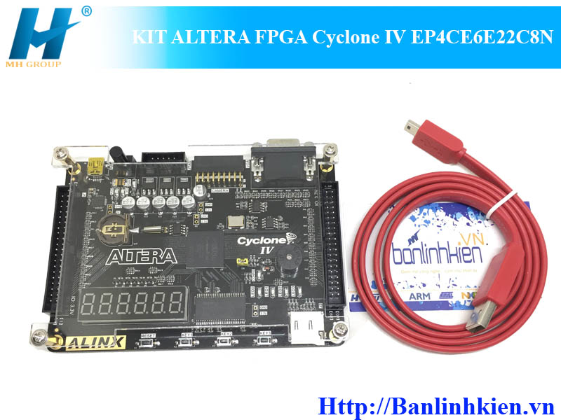 KIT ALTERA FPGA Cyclone IV EP4CE6E22C8N