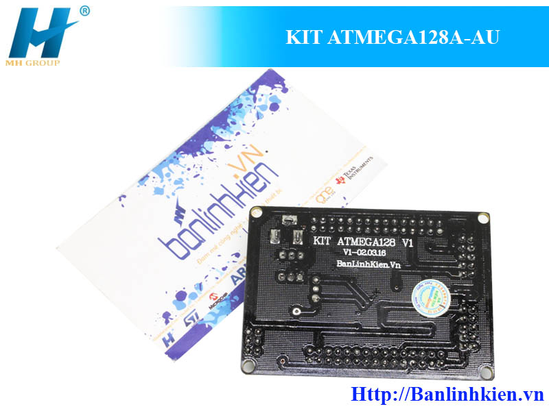 KIT ATMEGA128A-AU