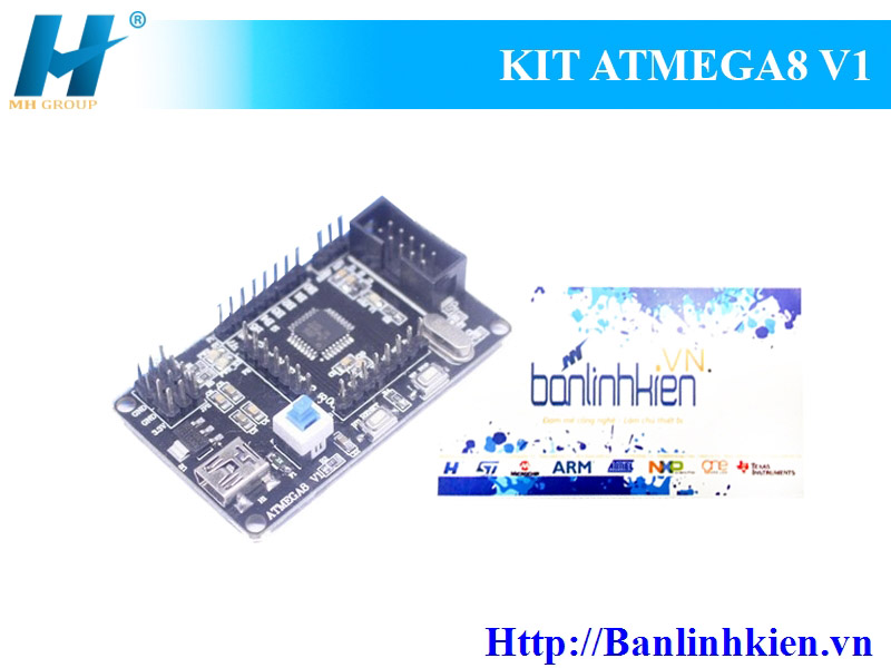 KIT ATmega8 V1