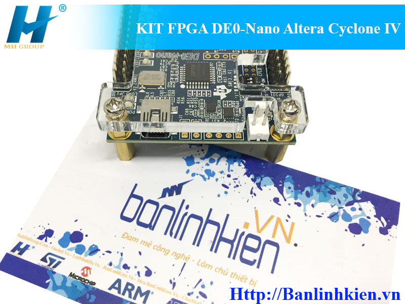 KIT FPGA DE0-Nano Altera Cyclone IV