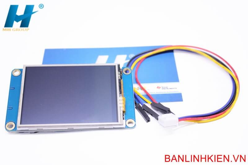 LCD TFT 2.4 UART HMI Touch (Ver China)