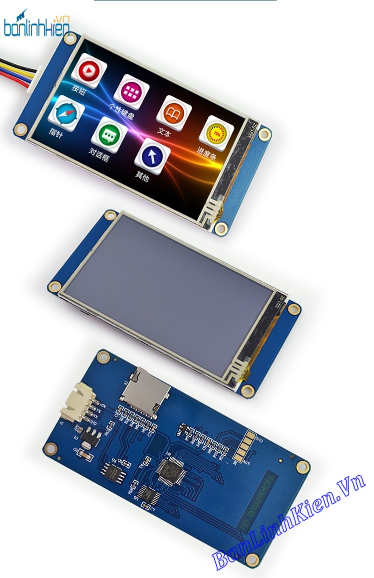 LCD TFT 3.2 UART HMI Touch (Ver China)