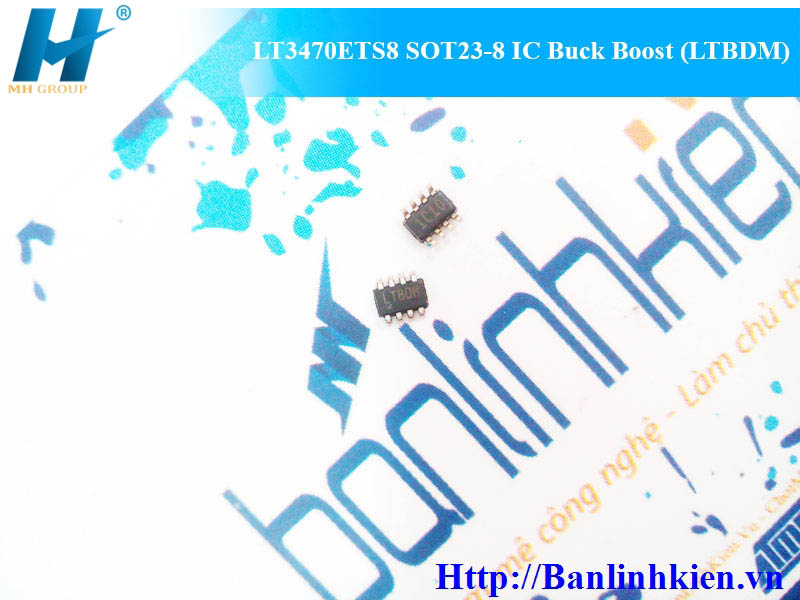 LT3470ETS8 SOT23-8 IC Buck Boost (LTBDM)