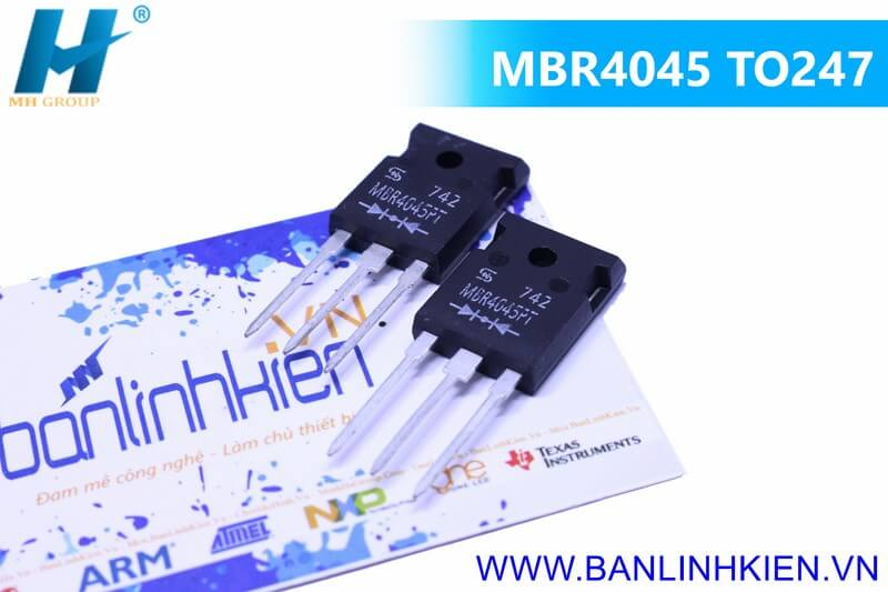 MBR4045 TO247