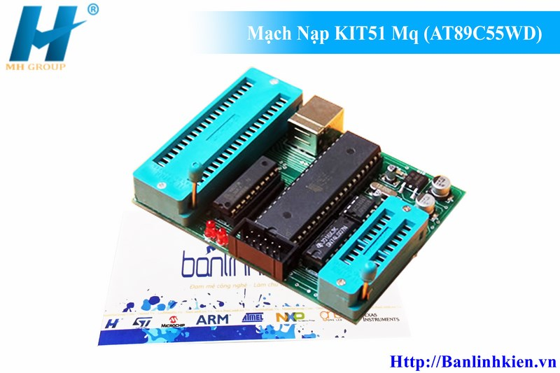 Mạch Nạp KIT51 Mq (AT89C55WD)